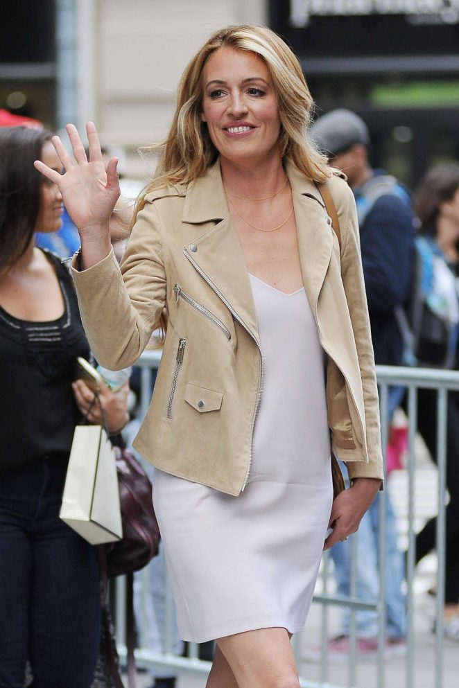 Cat Deeley at AOL Build Speaker Series in New York City