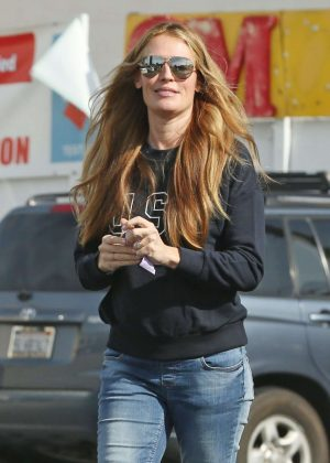 Cat Deeley in Jeans out in LA