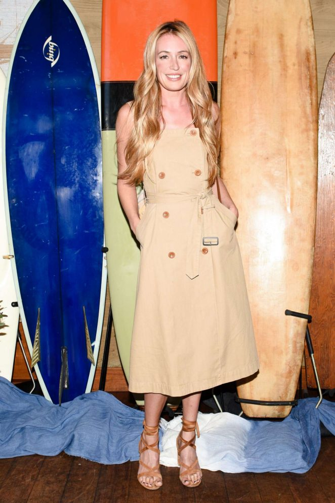 Cat Deeley - Madewell and the Surfrider Foundation Collaboration Launch in Malibu