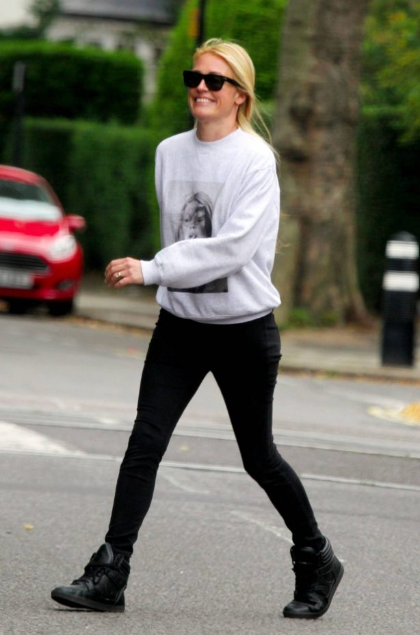 Cat Deeley - Out in London