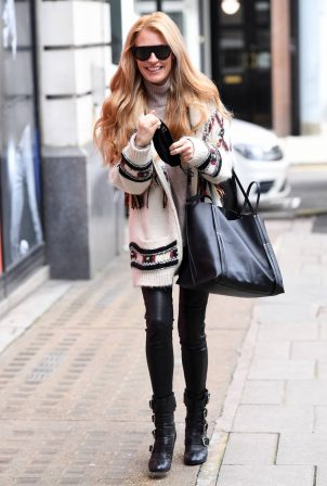 Cat Deeley - Seen at the BBC in London