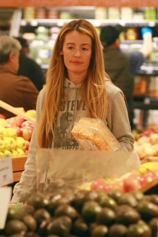 Cat Deeley – Shopping at Whole Foods in Beverly Hills
