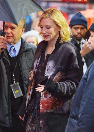 Cate Blanchett - Arrives at Good Morning America in New York