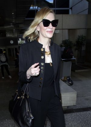 Cate Blanchett - Arrives at LAX Airport in LA