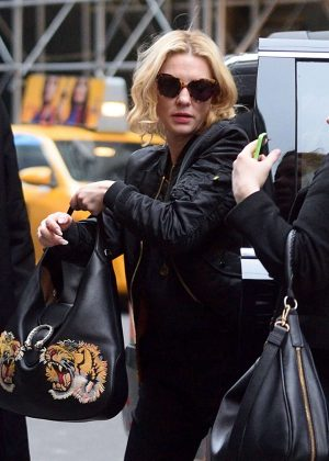 Cate Blanchett - Arrives on Broadway in New York