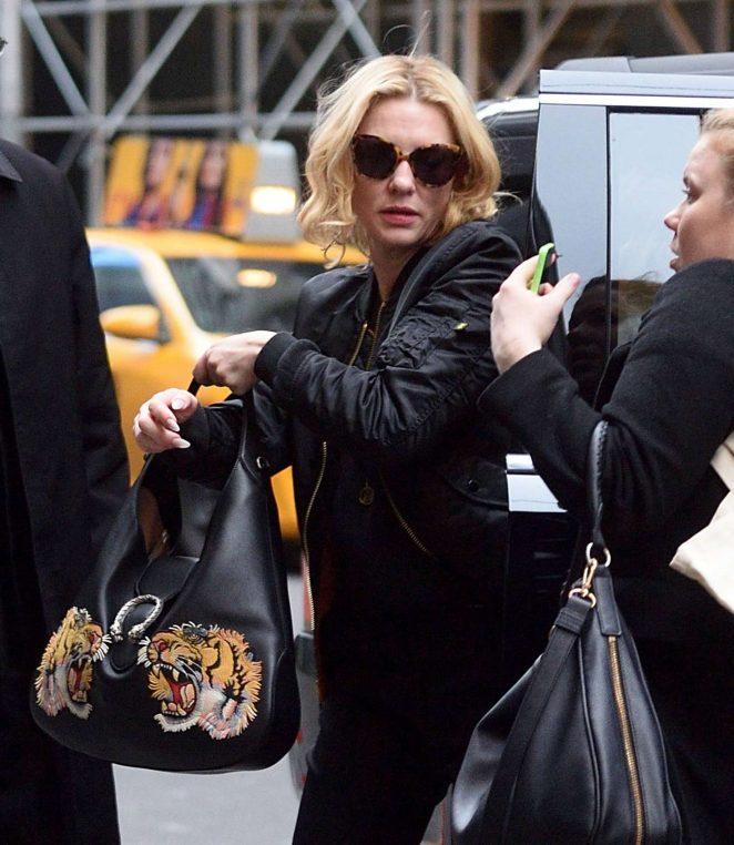 Cate Blanchett - Arrives on Broadway in New York