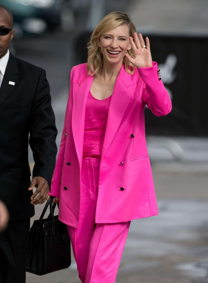 Cate Blanchett - Arriving at 'Jimmy Kimmel Live' in Hollywood