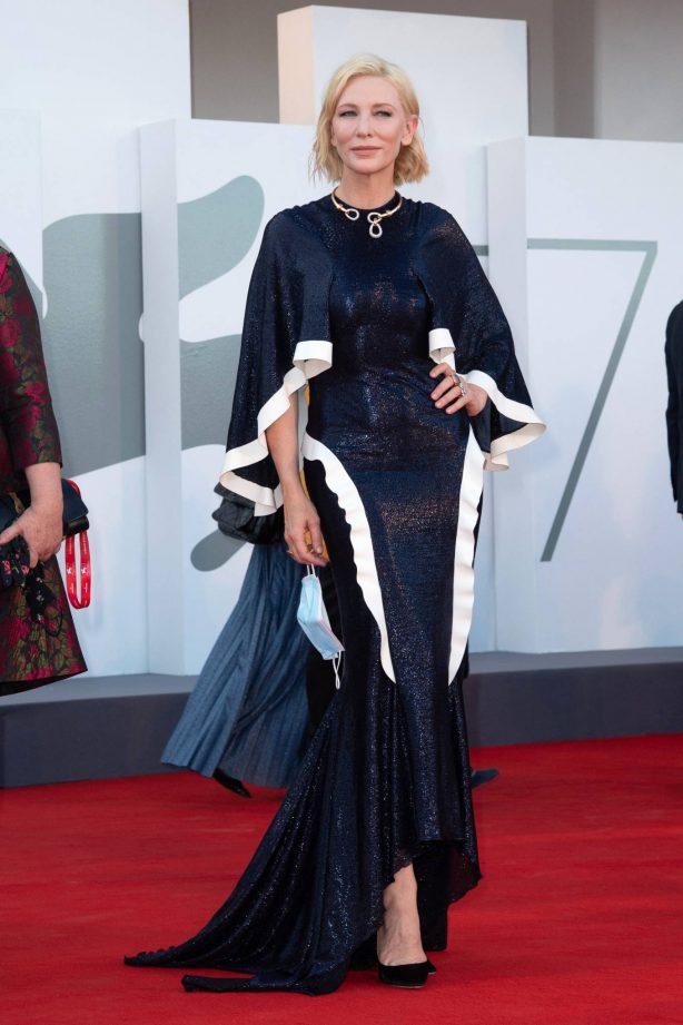 Cate Blanchett attending Opening Ceremony at 2020 Venice International Film Festival - Italy