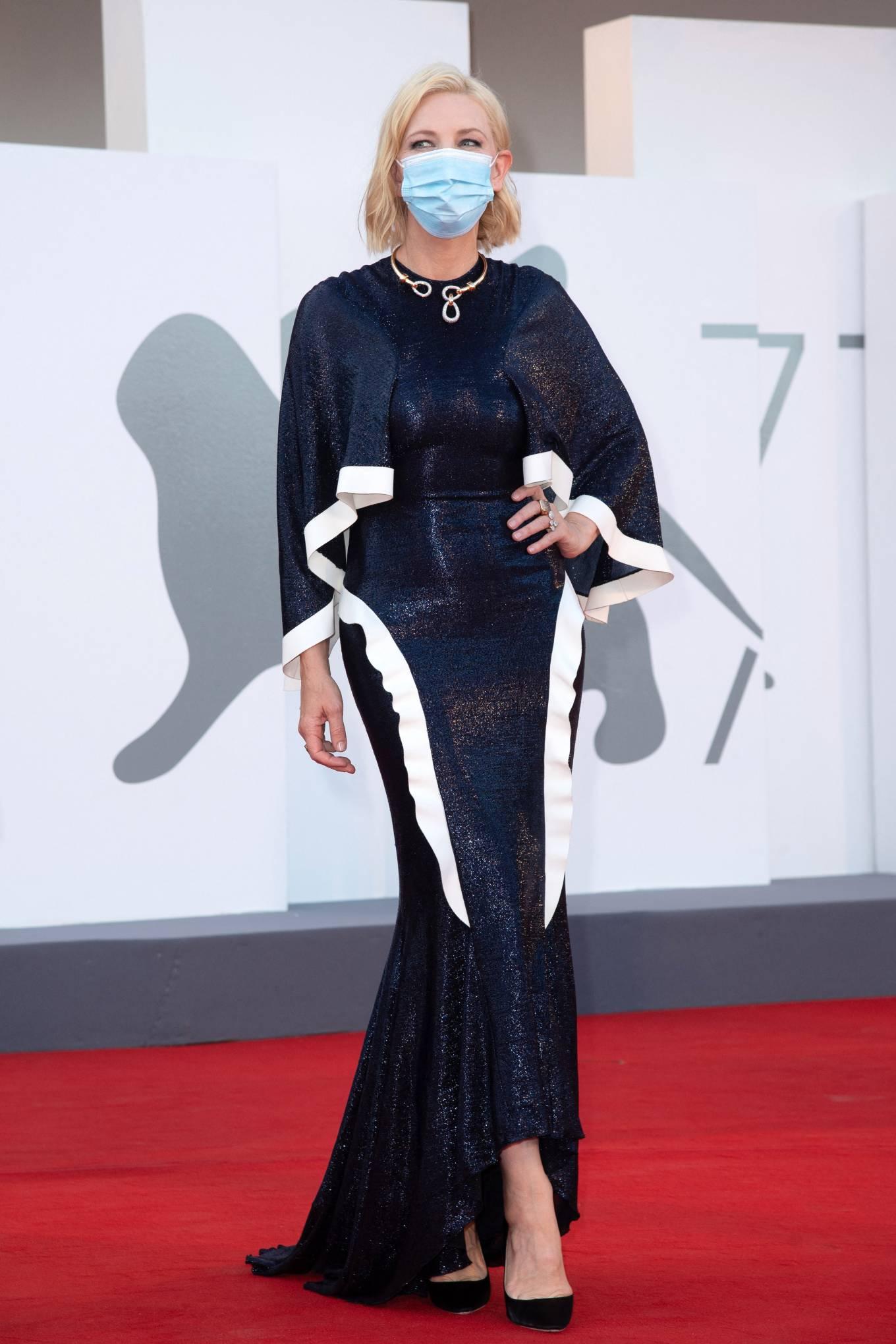 Cate Blanchett 2020 : Cate Blanchett attending Opening Ceremony at 2020 Venice International Film Festival – Italy-14