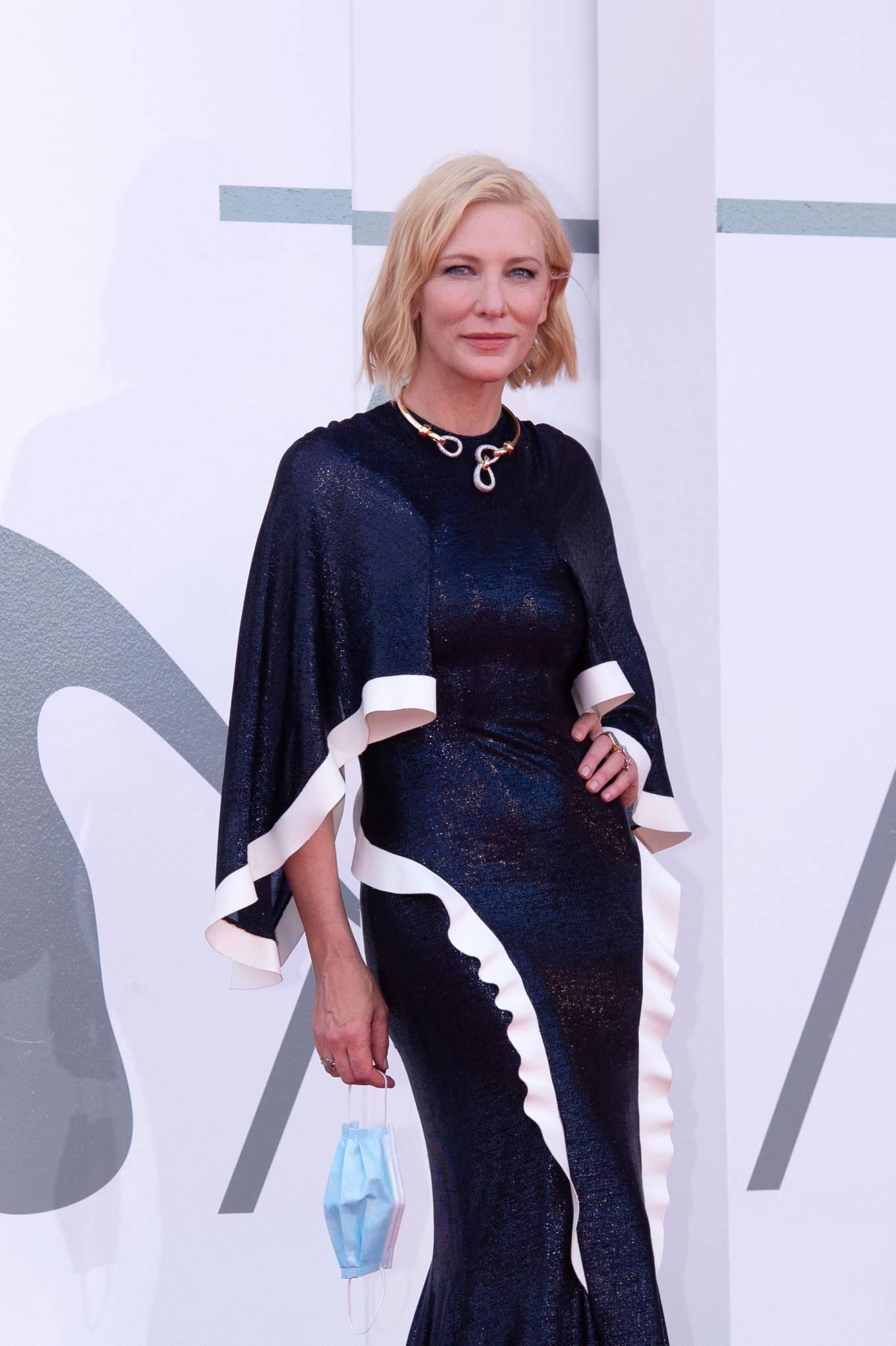 Cate Blanchett 2020 : Cate Blanchett attending Opening Ceremony at 2020 Venice International Film Festival – Italy-18