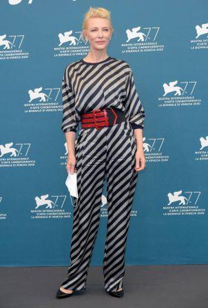 Cate Blanchett attending the jury photocall at 2020 Venice International Film Festival - Italy
