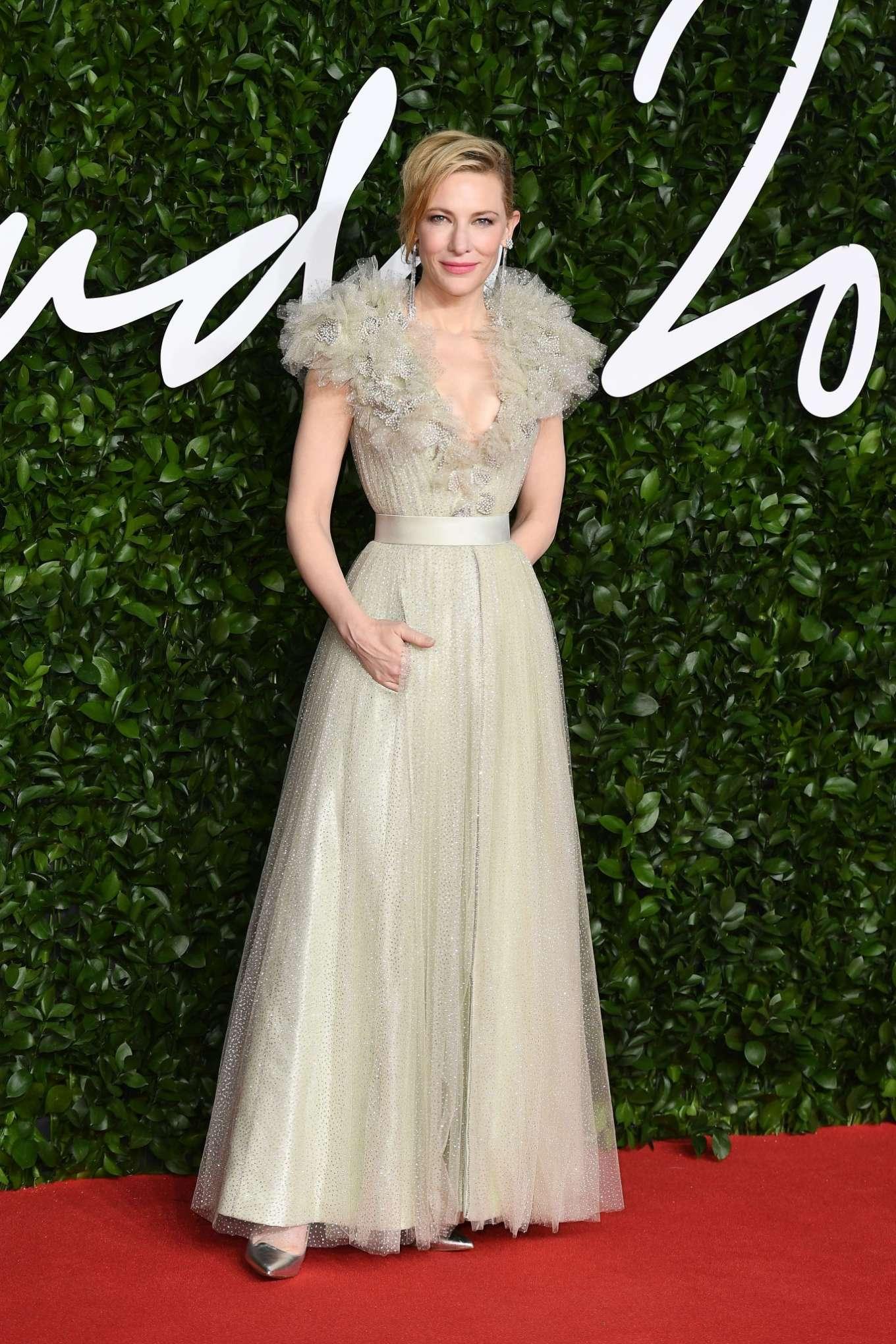Cate Blanchett 2019 : Cate Blanchett – Fashion Awards 2019 in London-04