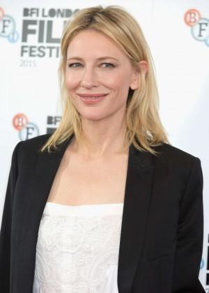 Cate Blanchett - 'Carol' Photocall at BFI London Film Festival