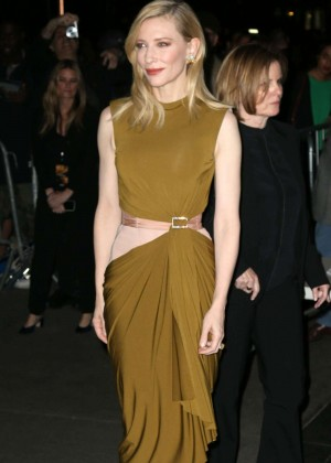Cate Blanchett - 'Carol' Premiere in New York