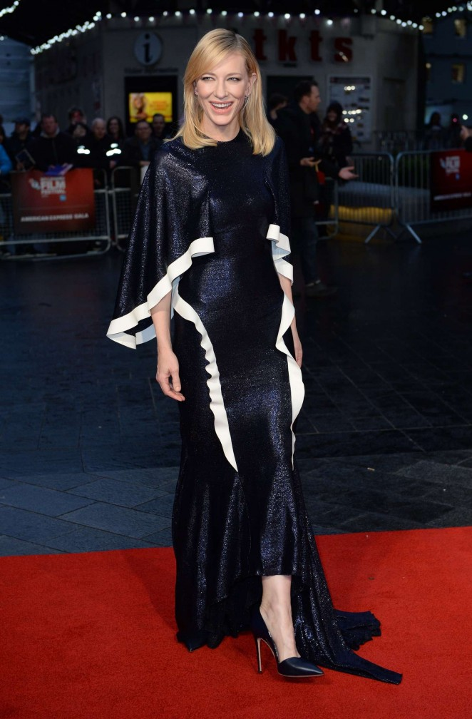 Cate Blanchett - 'Carol' Screening at 2015 BFI London Film Festival