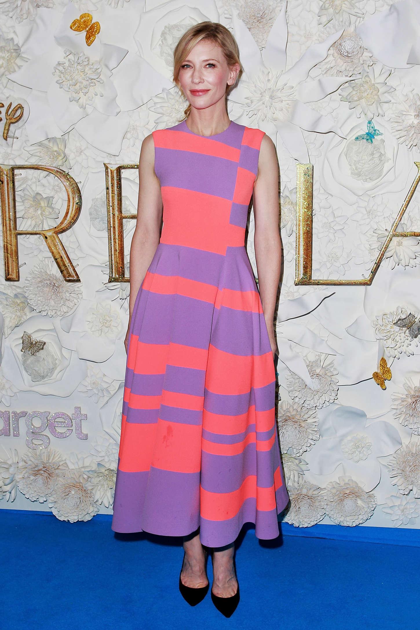 Cate Blanchett 2015 : Cate Blanchett – Cinderella Premiere -06