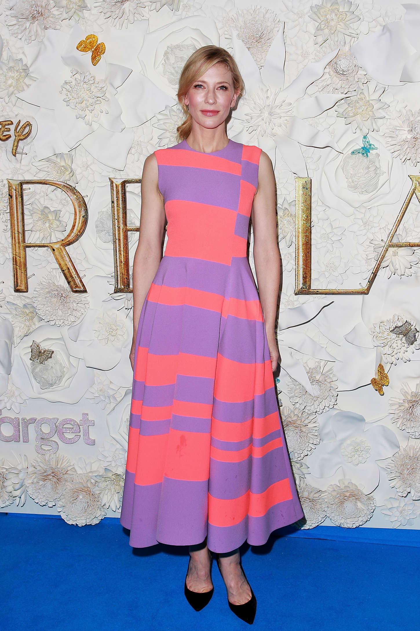 Cate Blanchett 2015 : Cate Blanchett – Cinderella Premiere -10