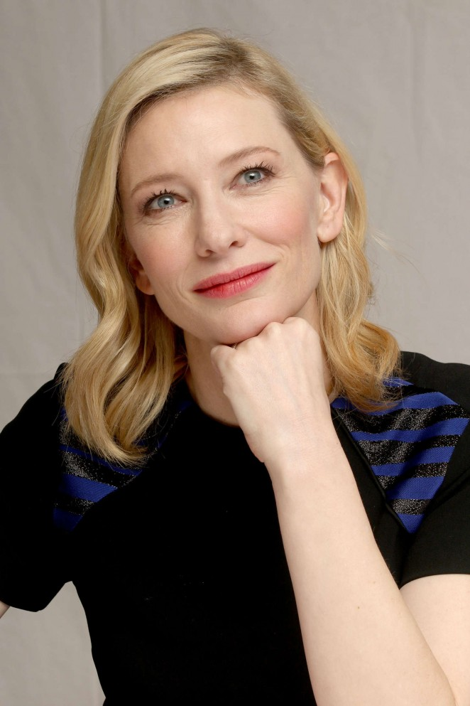 "Cate Blanchett - ""Cinderella"" Press Conference in Beverly Hills"
