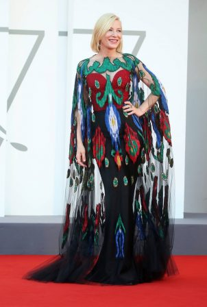Cate Blanchett - Closing Ceremony Red Carpet of 2020 Venice Film Festival in Venice