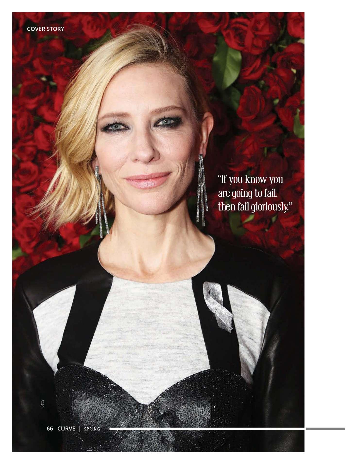 Cate Blanchett - Curve Magazine (Spring 2018)