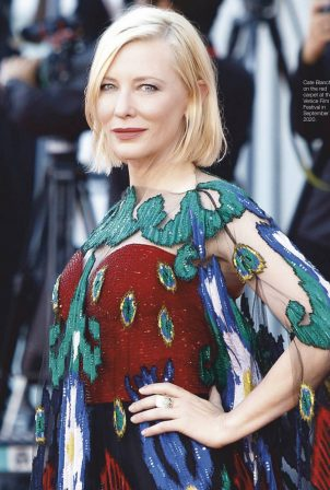 Cate Blanchett - Fairlady Magazine (March 2021)