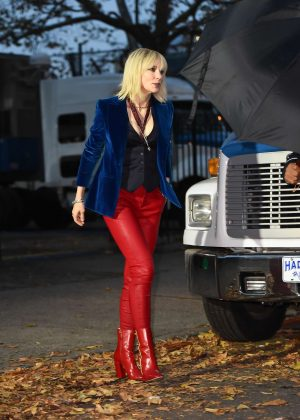 Cate Blanchett - Filming 'Ocean's Eight' in New York City