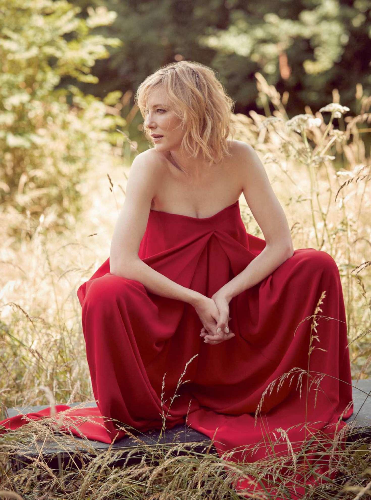 Cate Blanchett for Harper's Bazaar UK Magazine (October 2018)