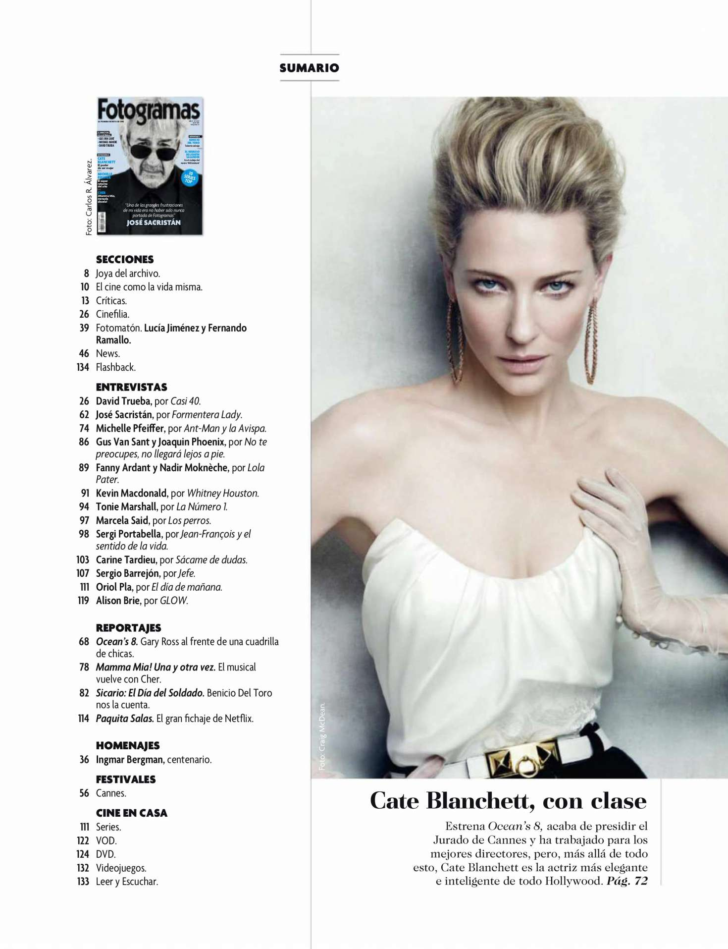 Cate Blanchett 2018 : Cate Blanchett: Fotogramas 2018 -01