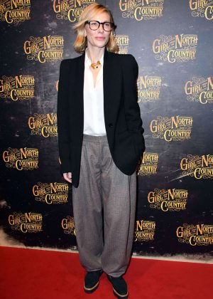 Cate Blanchett - 'Girl from the North Country' Play Opening Night in London