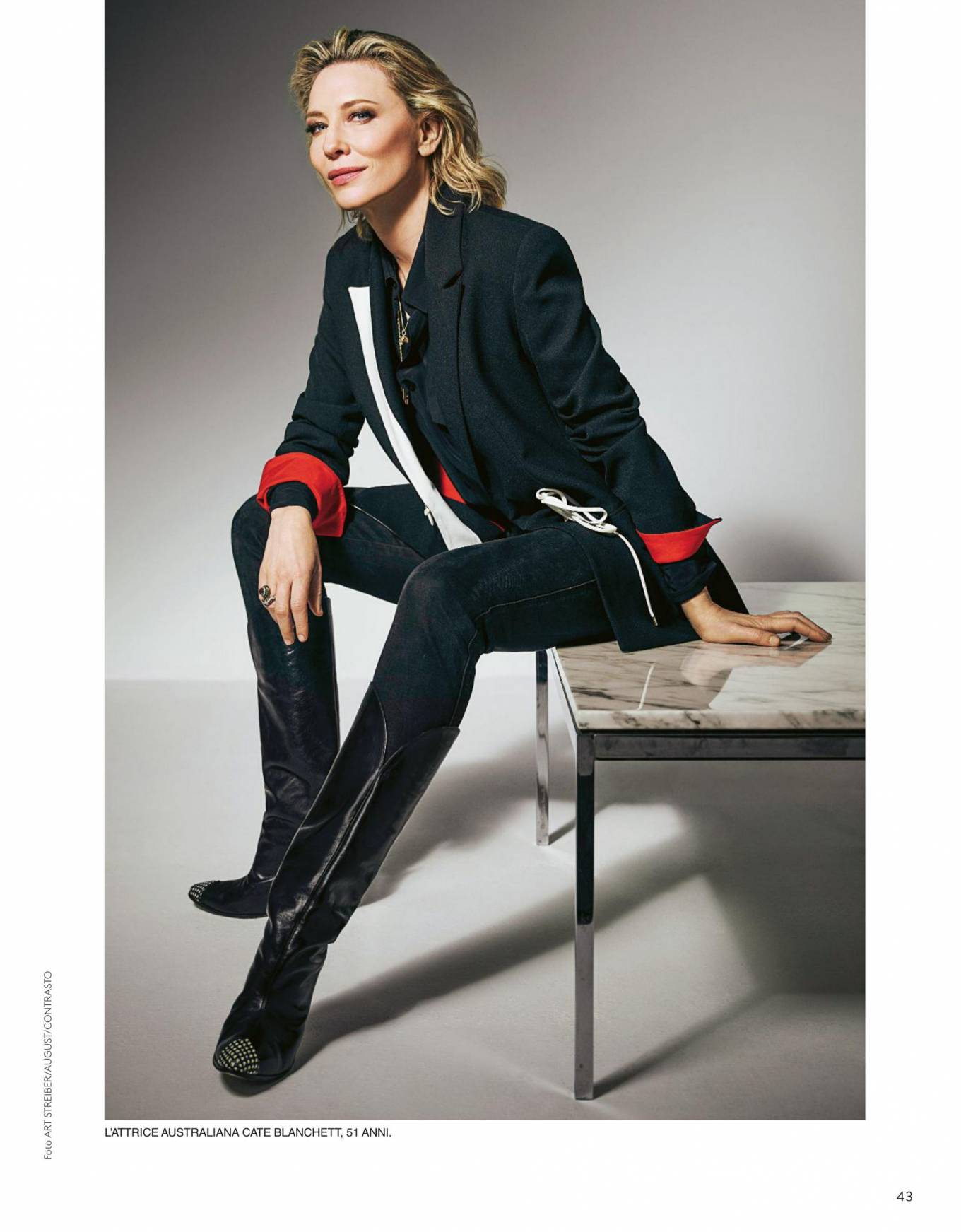 Cate Blanchett 2020 : Cate Blanchett – Grazia Italy 2020-01