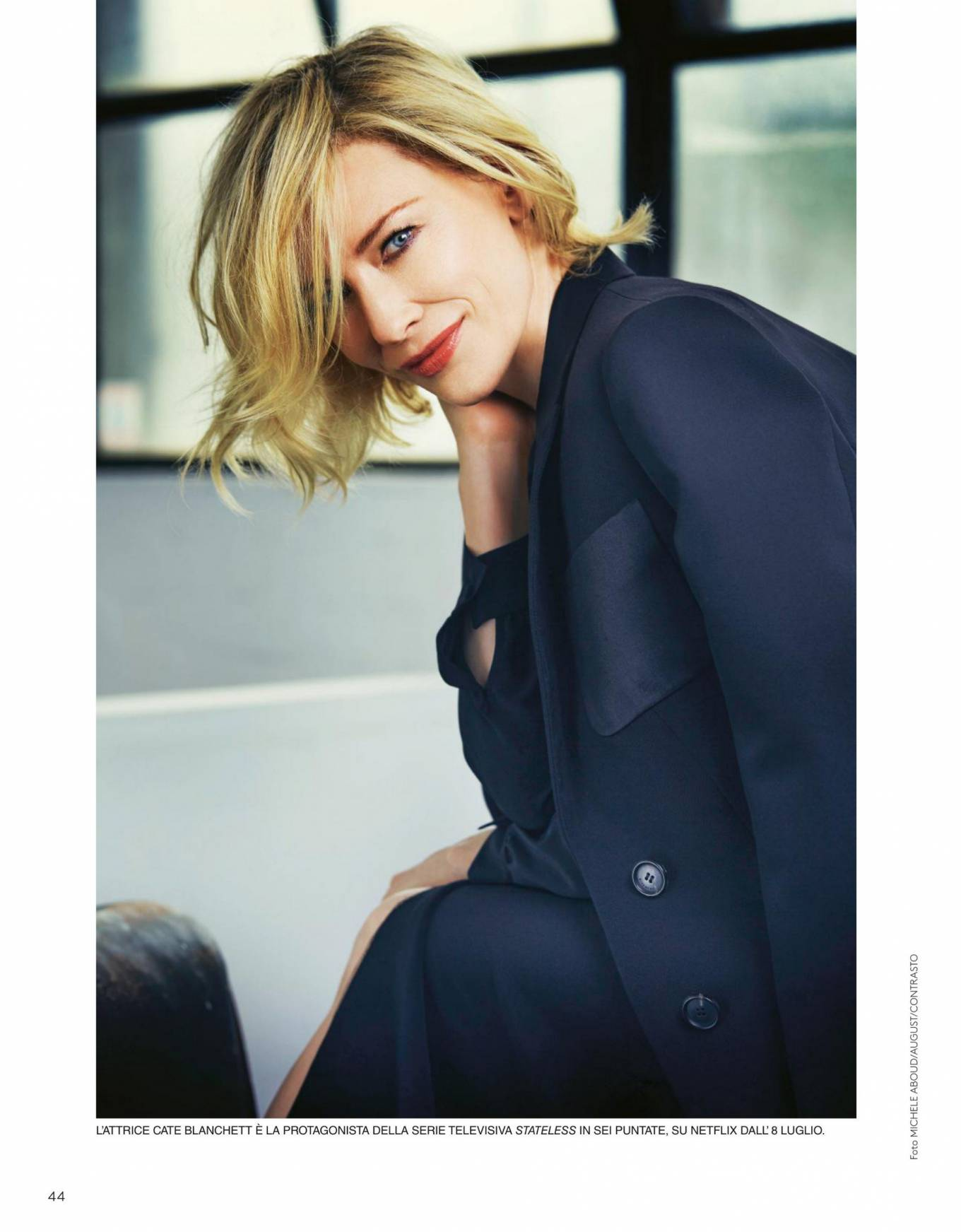 Cate Blanchett 2020 : Cate Blanchett – Grazia Italy 2020-05