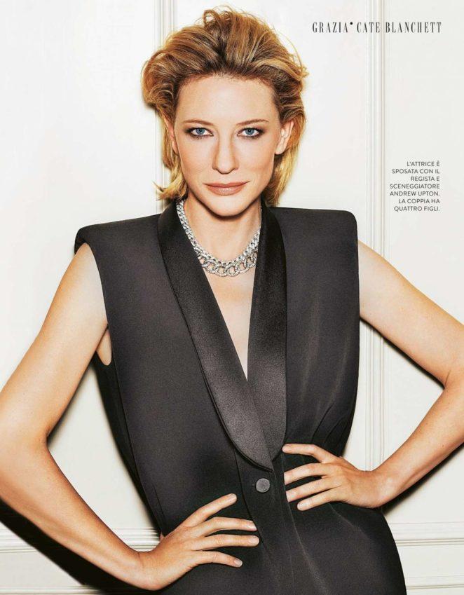Cate Blanchett - Grazia Italy Magazine (October 2017)