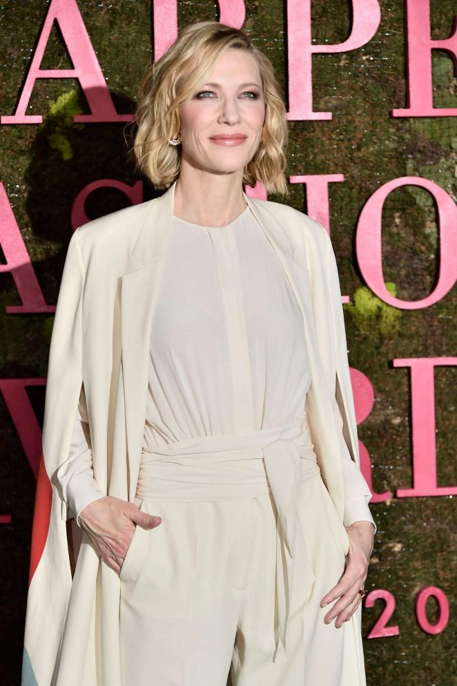 Cate Blanchett - Green Carpet Fashion Awards 2018 in Milan