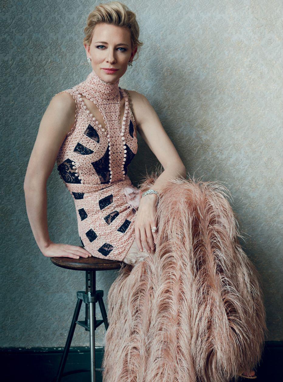 Cate Blanchett - Harper's Bazaar UK Magazine (February 2016) Cate Blanchett 2016