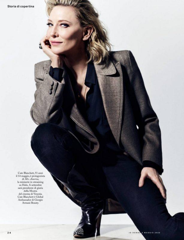 Cate Blanchett - Io Donna del Corriere della Sera (May 2020)