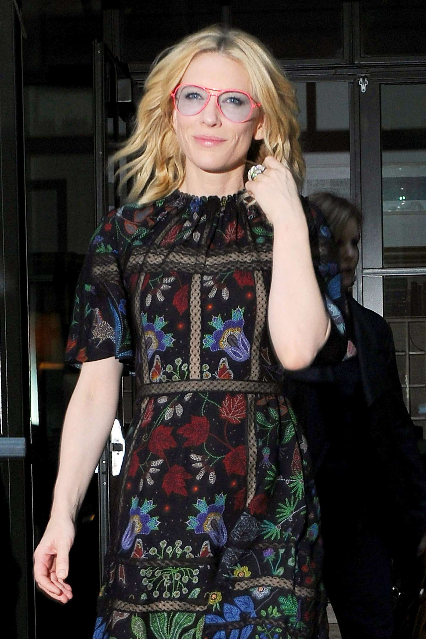 Cate Blanchett 2015 : Cate Blanchett: Leaves her Soho Hotel -10
