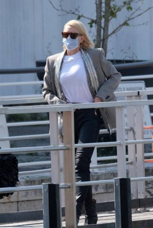 Cate Blanchett - Leaves the Venice Film Festival in Venice
