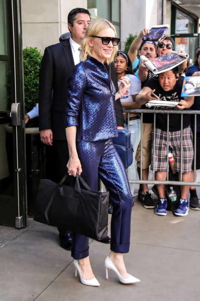 Cate Blanchett 2018 : Cate Blanchett: Leaves Whitby Hotel -01