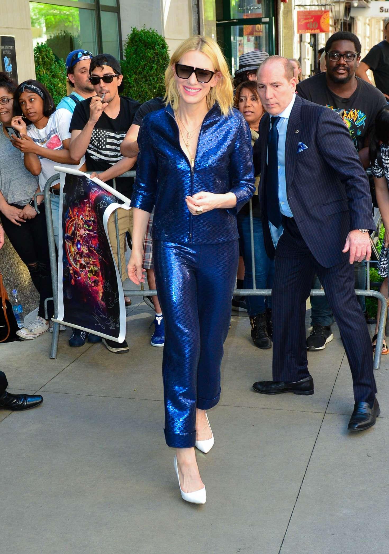 Cate Blanchett: Leaves Whitby Hotel -04