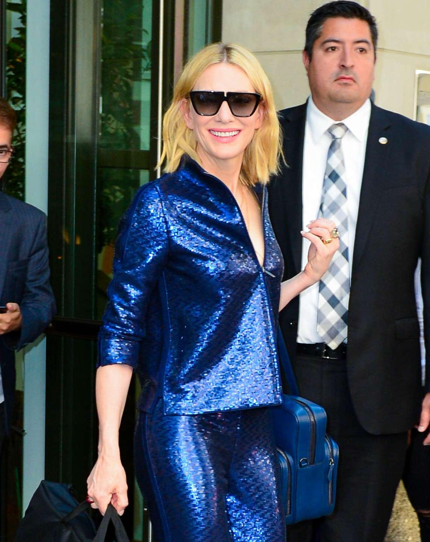 Cate Blanchett 2018 : Cate Blanchett: Leaves Whitby Hotel -05
