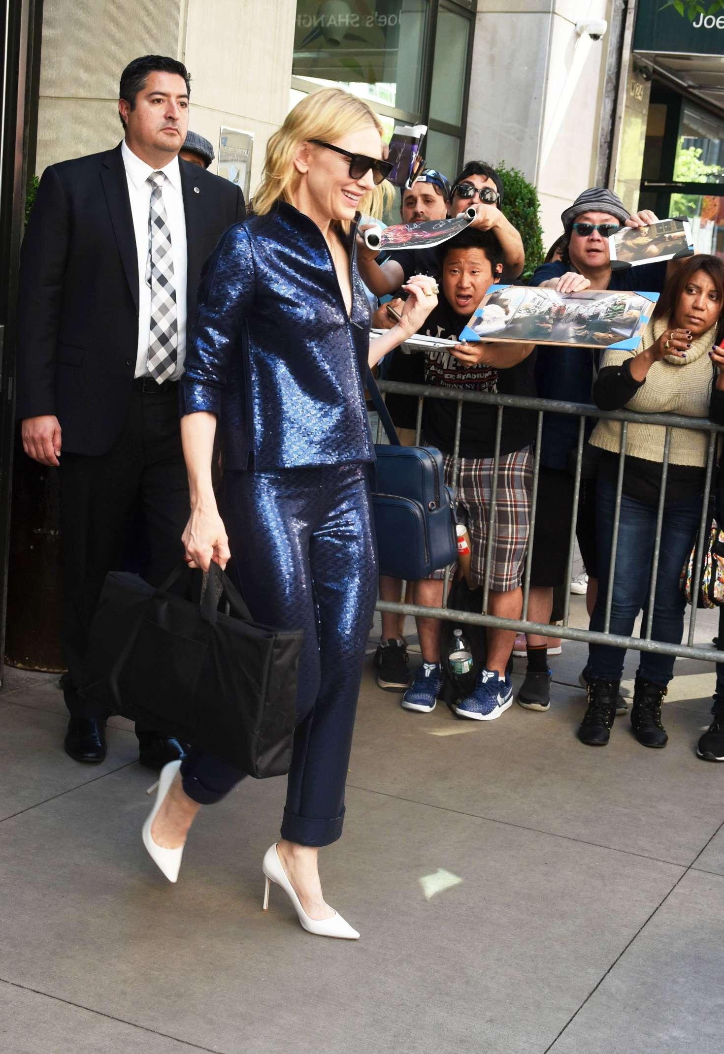 Cate Blanchett 2018 : Cate Blanchett: Leaves Whitby Hotel -06