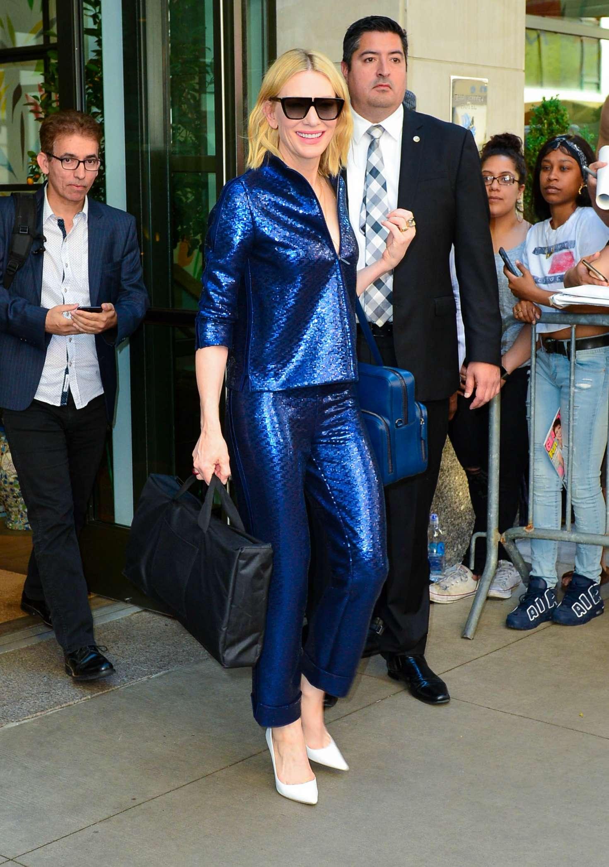 Cate Blanchett 2018 : Cate Blanchett: Leaves Whitby Hotel -07