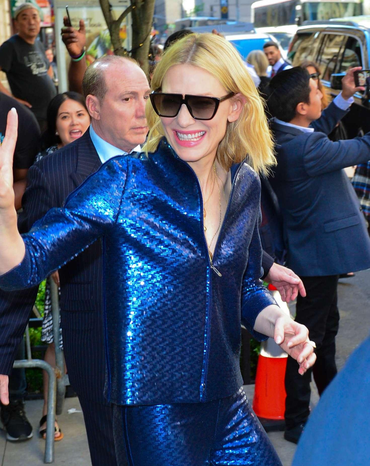 Cate Blanchett 2018 : Cate Blanchett: Leaves Whitby Hotel -08
