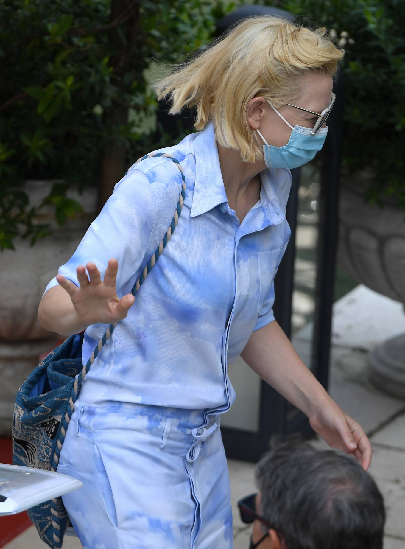 Cate Blanchett - Leaving her hotel in Venice