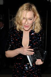 Cate Blanchett - Leaving the Harper's Bazaar Women of the Year Awards 2019 in London