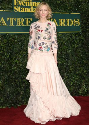 Cate Blanchett - London Evening Standard Theatre Awards 2017 in London