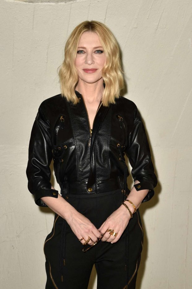 Cate Blanchett - Louis Vuitton Cruise 2020 Fashion Show at JFK Airport in NY