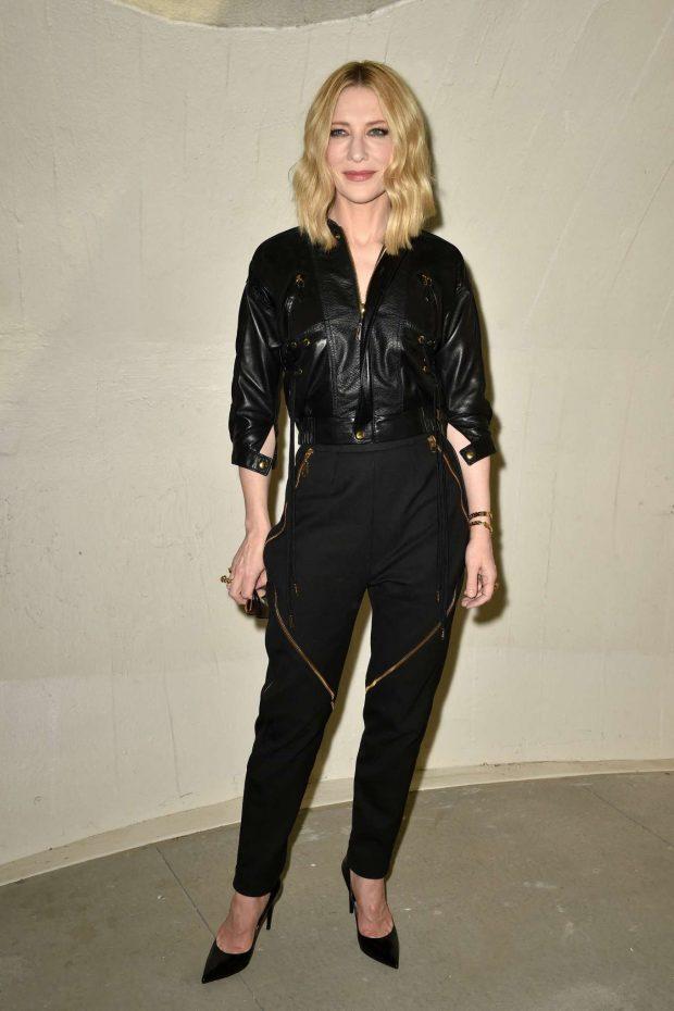 Cate Blanchett: Louis Vuitton Cruise 2020 Fashion Show at JFK Airport -04