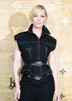 Cate Blanchett - Louis Vuitton & Jeff Koons Masters Collection Collaboration in Paris
