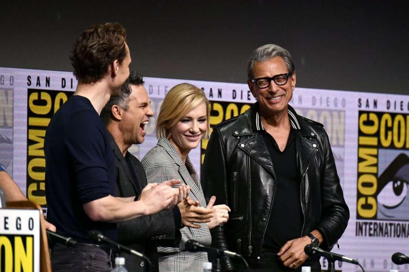 Cate Blanchett 2017 : Cate Blanchett: Marvel Studios Panel at San Diego Comic-Con 2017-05
